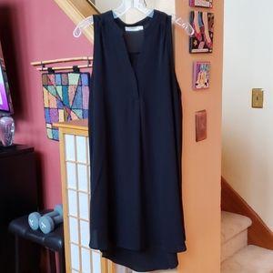 Lush black mini dress size M